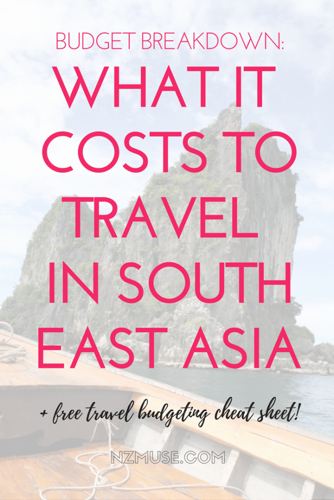 RTW BUDGET BREAKDOWN WHAT IT COSTS TO TRAVEL IN SE ASIA