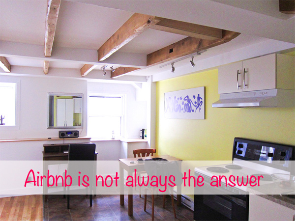 airbnb not always cheaper than hotels