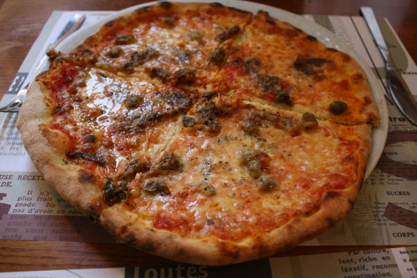 Pizza in Bologna, Italy