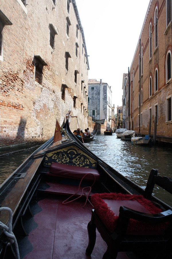 Canals in Venice don't smell
