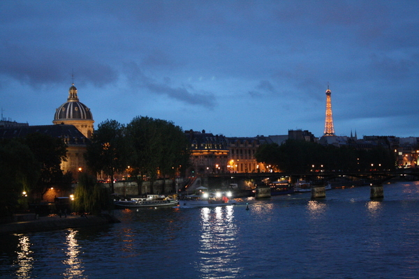 Paris - river by night