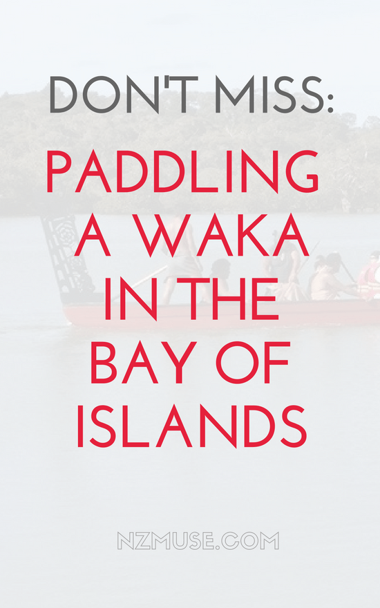 Waka with Taiamai Tours, Bay of Islands, NZ