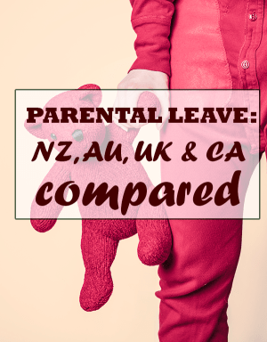 Paid maternity leave: NZ, Australia, UK and Canada compared