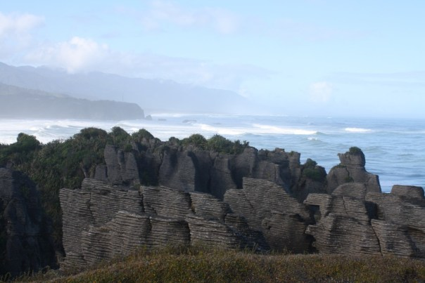 Pancake rocks at Punakaiki - NZ Muse