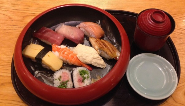 Sushi in Kyoto - NZ Muse