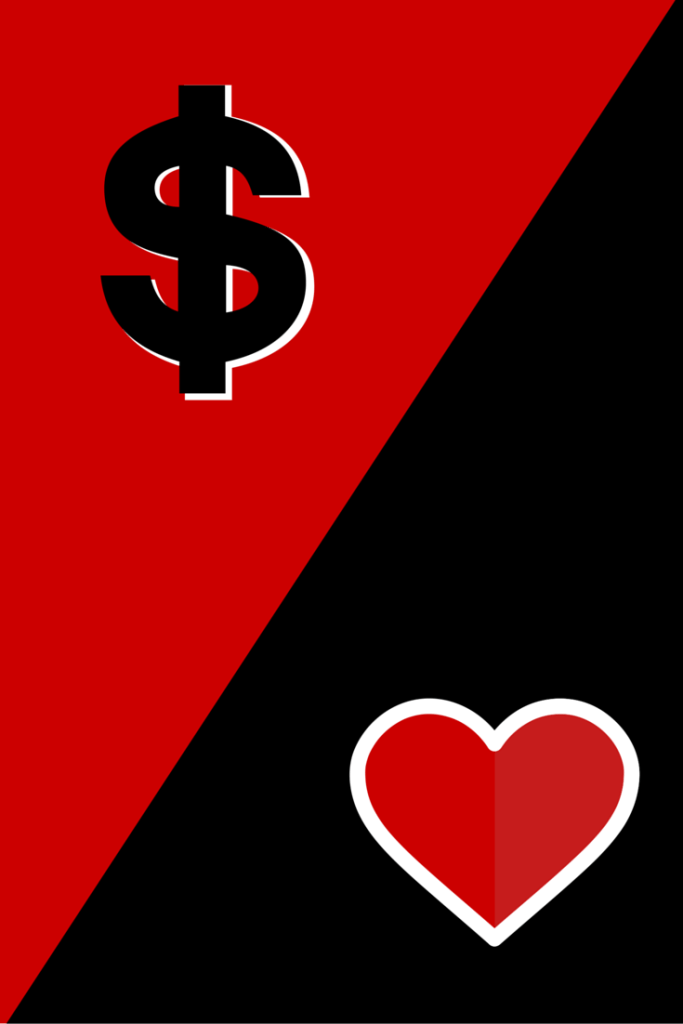 Love vs money - NZ Muse