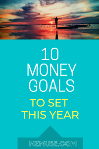 10 money goals to set for the new year