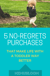 5 NO REGRET PURCHASES - that make life with a toddler way better