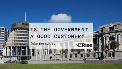 Is the NZ Government a good customer for your business?