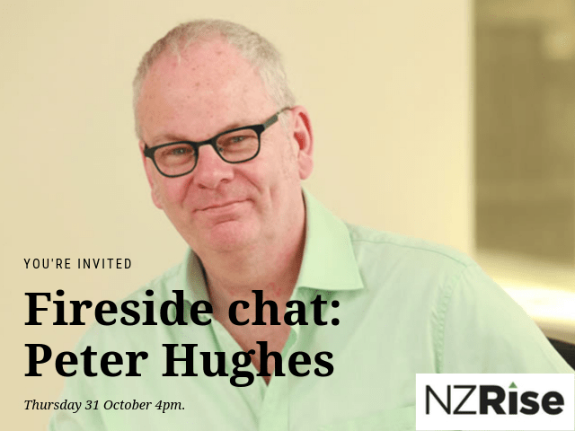 Fireside chat: Peter Hughes, State Services Commissioner.
