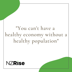 You can't have a healthy economy without a healthy population