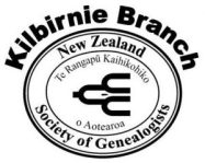 The Logo of the Kilbirnie Branch of the NZSG