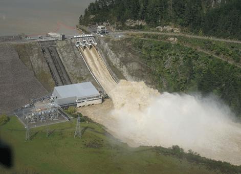 Matahina Dam performance in the April 2017 Rangitaiki Floods