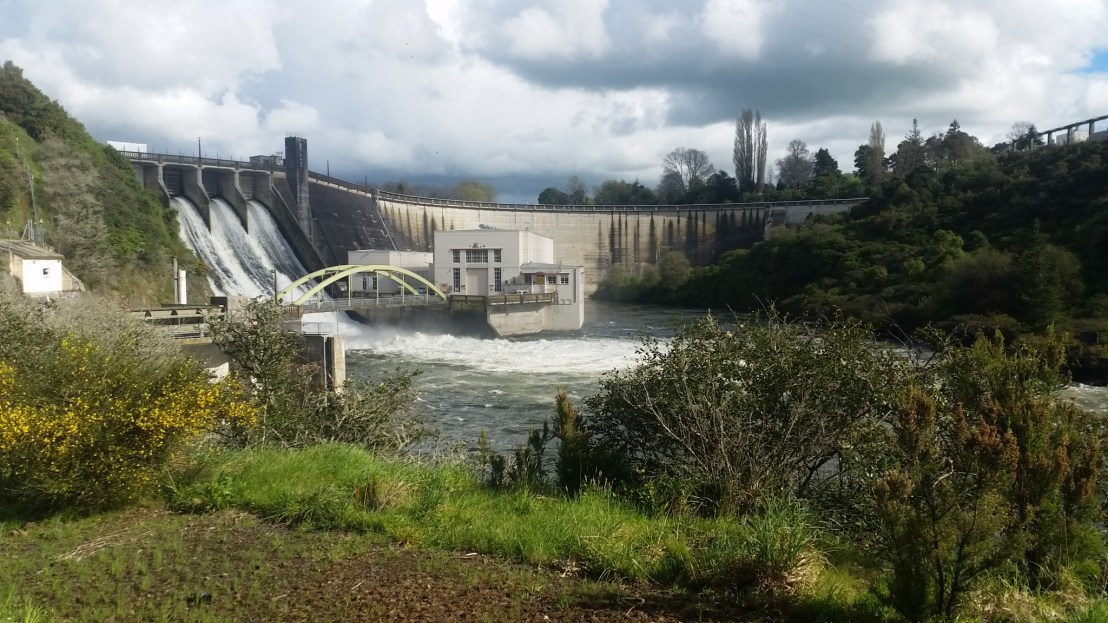 Karapiro Dam | Mercury | Hydropower | taken by David Bouma