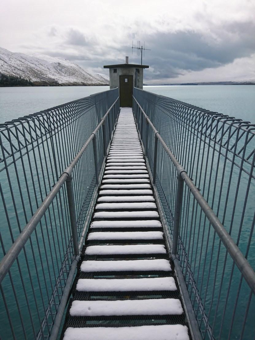 Tekapo A Intake Bridge | Genesis | Hydropower | taken by Martina Perez Casajuana