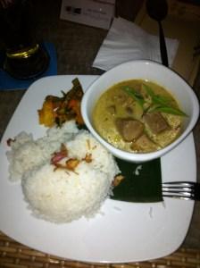 Peking Duck Thai Curry