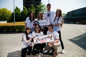 Studenci UEK Zwierzaków