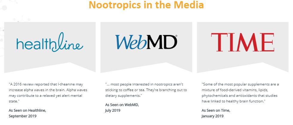Nootropics Media Report