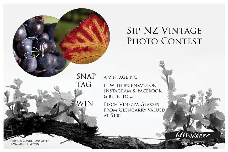 Sip NZ Vintage Photo Contest