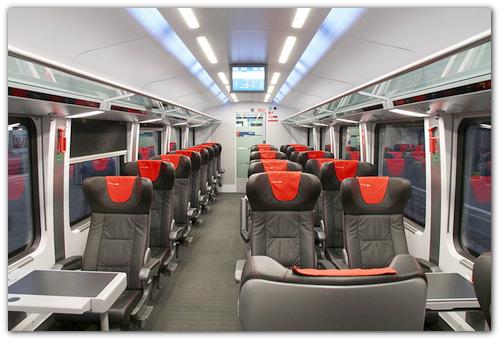 Поезд Eurocity.