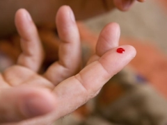 子供は赤血球を増やしました