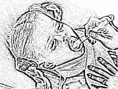 อาการและการรักษากล่องเสียงอักเสบในเด็ก