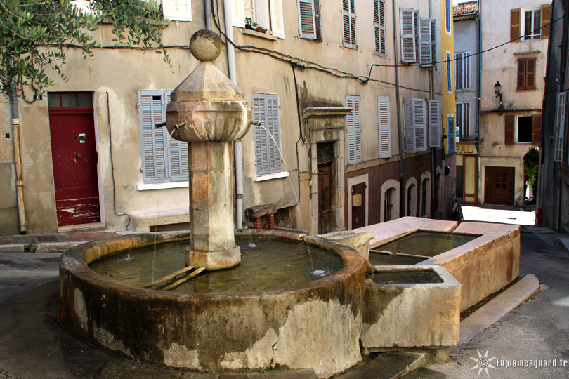 Le circuit des fontaines   Barjols