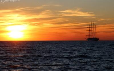 Un soir à l'horizon
