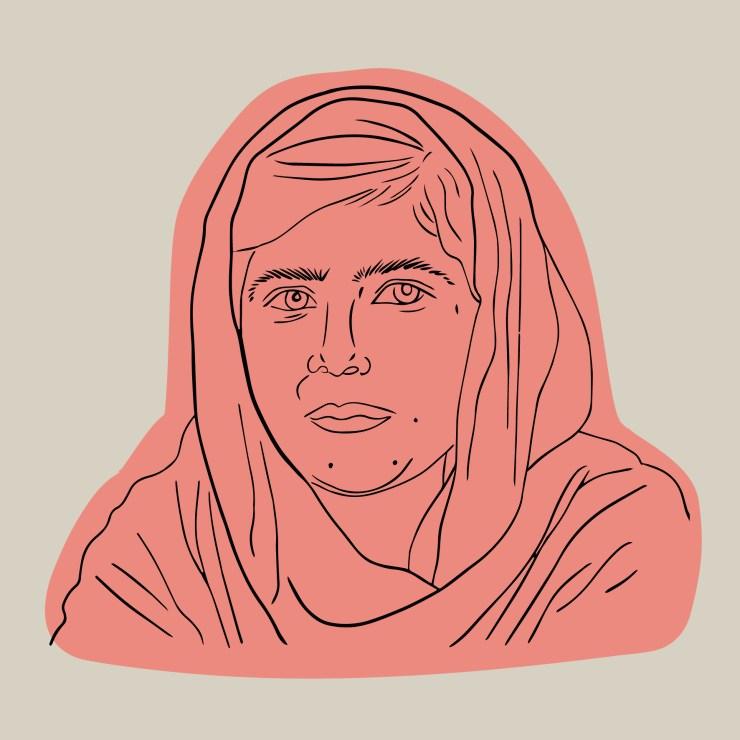 Länk till materialet och övningarna om Malala Yousafzai