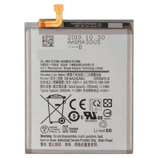 Bateria Samsung A20, peças e componentes para celular