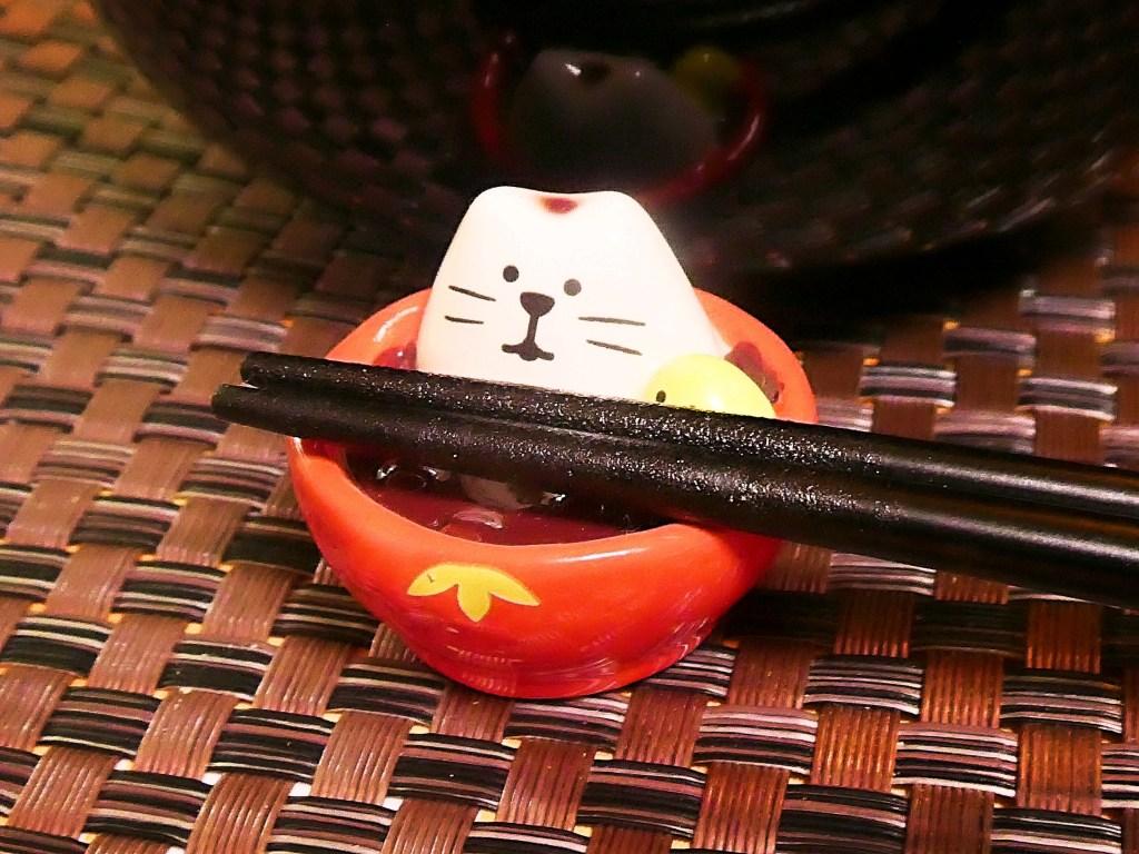 もち猫箸置きお雑煮