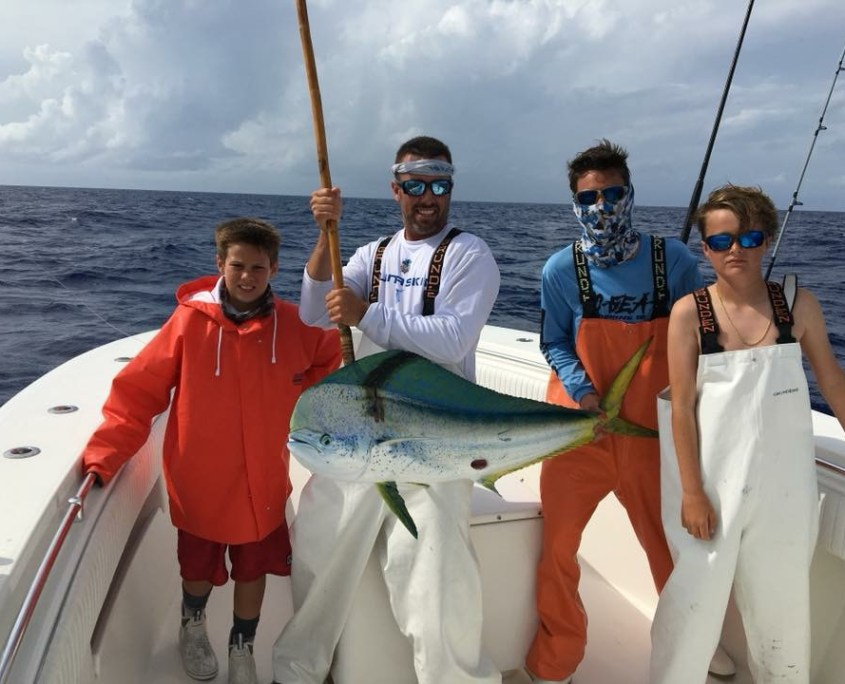 South Florida Dolphin Fishing