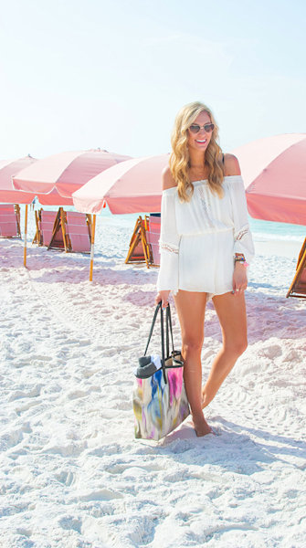 Street style tip of the day: Beach coverup