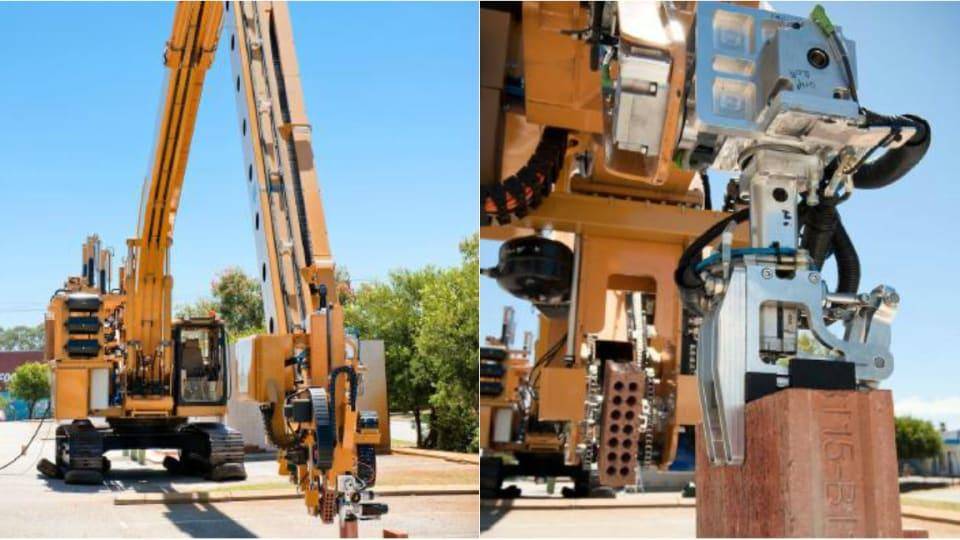 Questo muratore robot può costruire una casa in due giorni