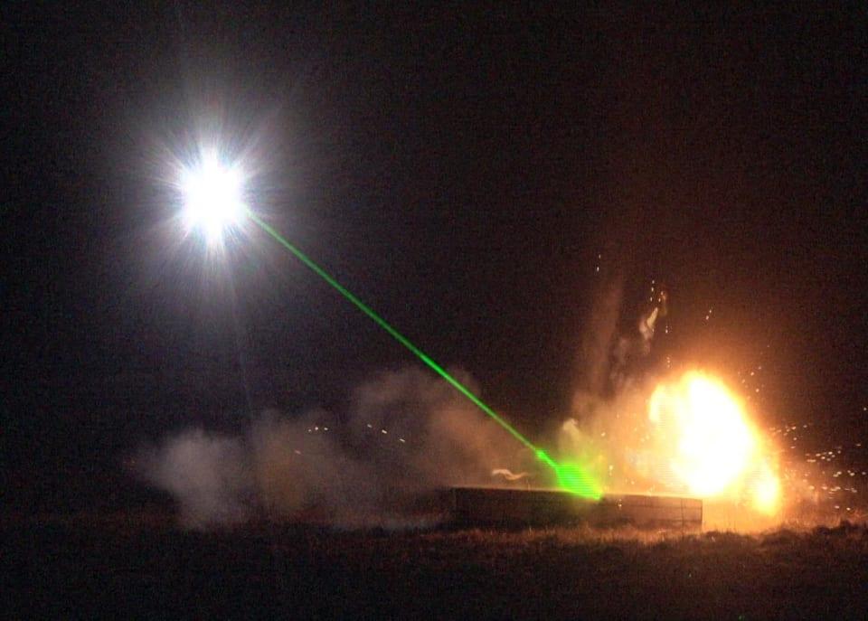 Lesercito e laeronautica collaborano per le spazzatrici basate sul laser della mina terrestre