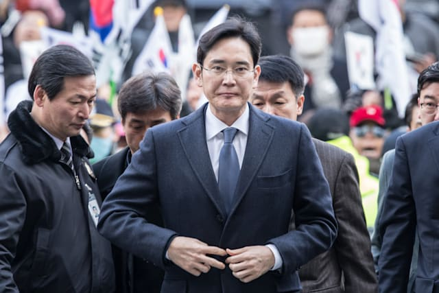 SOUTH KOREA-SEOUL-SAMSUNG-LEE JAE-YONG-HEARING
