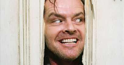 "jack nicholson as jack torrance in ""the shining"""
