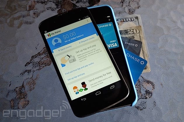 Google Wallet and Apple Pay