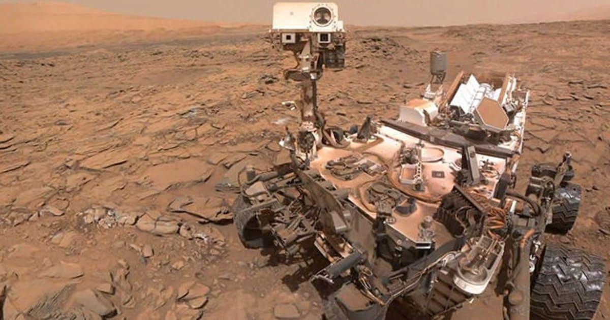 Les Roues De Curiosity Sur Mars Commencent Le Lcher