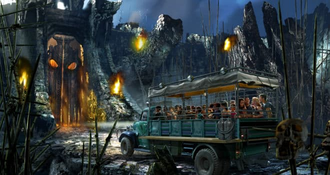 Skull Island: Reign of Kong jeep encounter