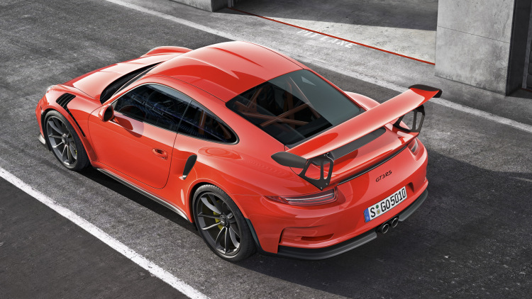 2016 Porsche 911 GT3 RS prowls into Geneva with biggest NA engine in the 911 range [w/video]