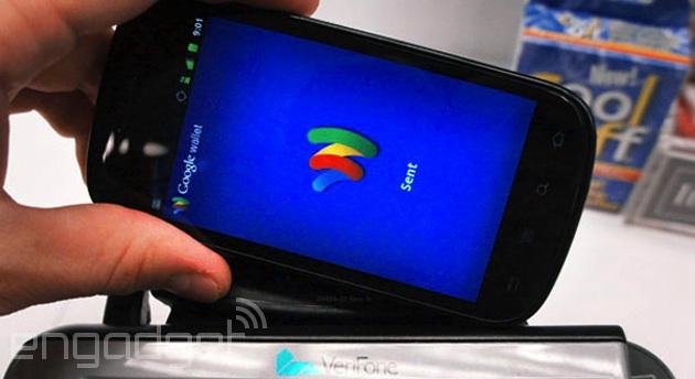 Google Wallet NFC payment on a Nexus S