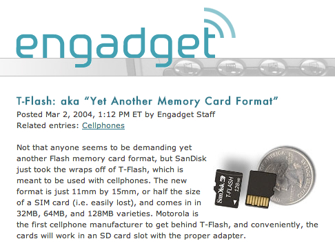 first engadget post