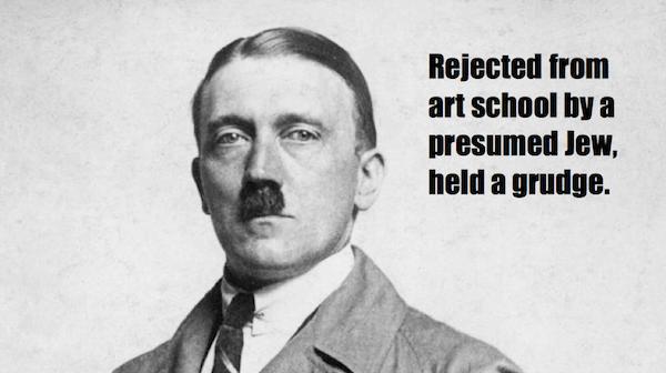 one-line summaries famous historical figures, adolf hitler