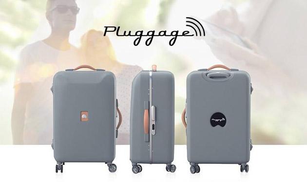 I nuovi bagagli di Delsey si pesano, fanno pagare i telefoni, prevedono il tempo