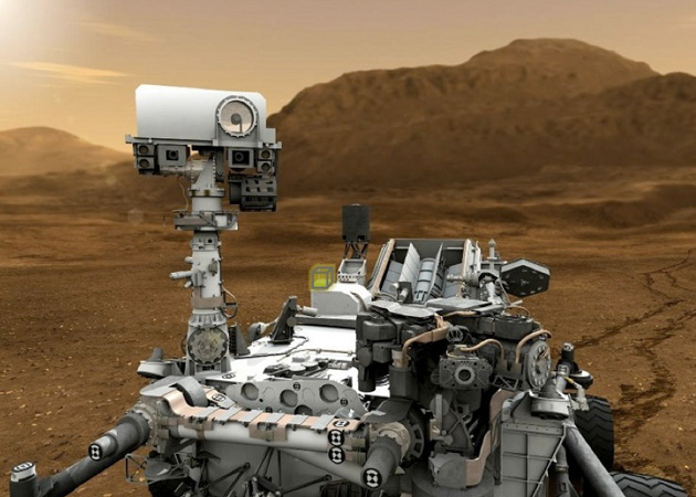 NASA's 2020 Mars rover with a greenhouse on top