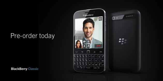 Allineamento di fan di Blackberry qui: gli pre ordini per il nuovo classico sono aperti