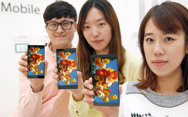 LG presenta la súper pantalla que montará el G4 antes que el propio teléfono