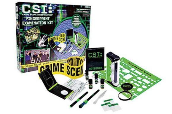 dangerous recalled toys, csi fingerprint examination kit
