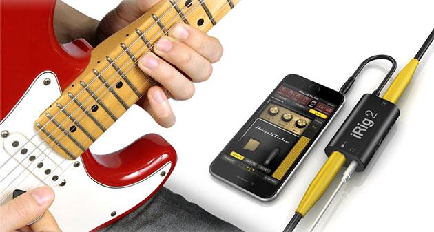 Il iRig 2 vuole sostituire la vostra tastiera a pedali della chitarra con un telefono